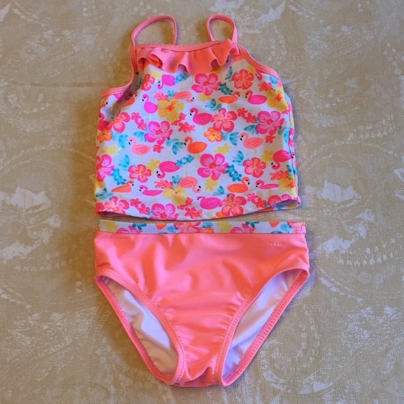 Girls' Clothing (newborn-5t) The Best Healthtex Girls Swimsuit Size 4t New Clothing, Shoes & Accessories